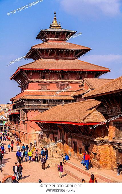 Nepal;Patan Dubar Square