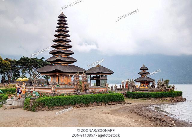 Pura Ulun Danu Bratan in Bali Indonesia