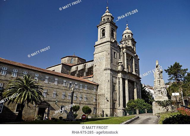 Church of San Francisco, Old Town, UNESCO World Heritage Site, Santiago de Compostela, Galicia, Spain, Europe