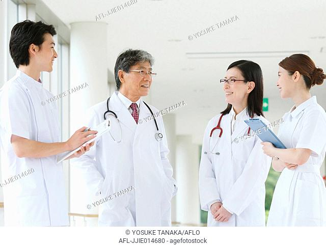Japanese medical team