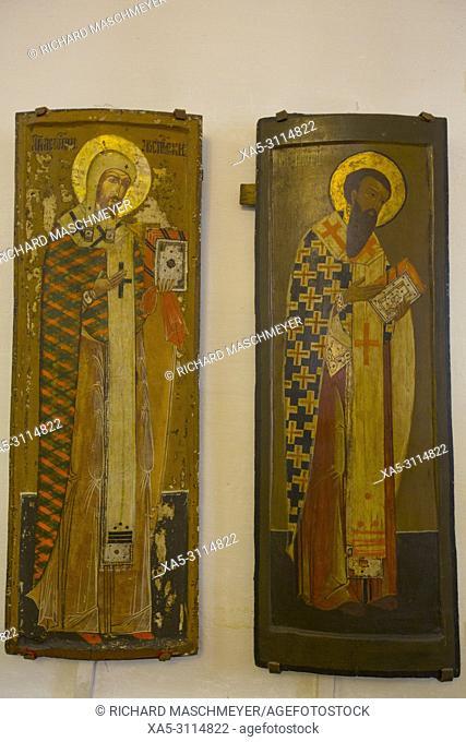 Icons, Kremlin Museum, Rostov Veliky, Golden Ring, Yaroslavl Oblast, Russia