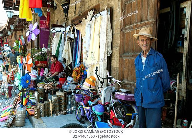 Market Souk in Byblos, Unesco World Heritage Site, Jbail, Lebanon