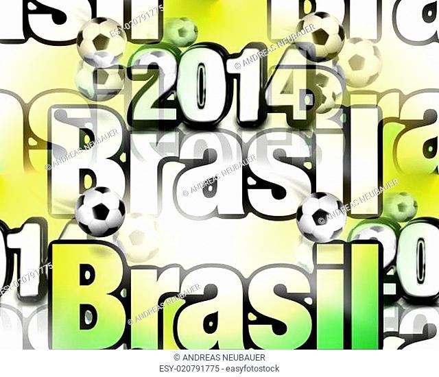 Brasil 2014 modern texture