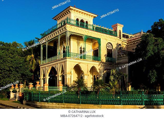 Cuba, Cienfuegos, Punta Gorda, Palacio de Valle