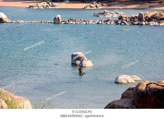 Africa, Malawi, Monkey bay district, Malawi lake