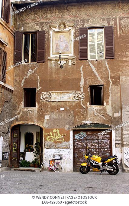 Back Street. Campo De' Fiori. Rome. Italy