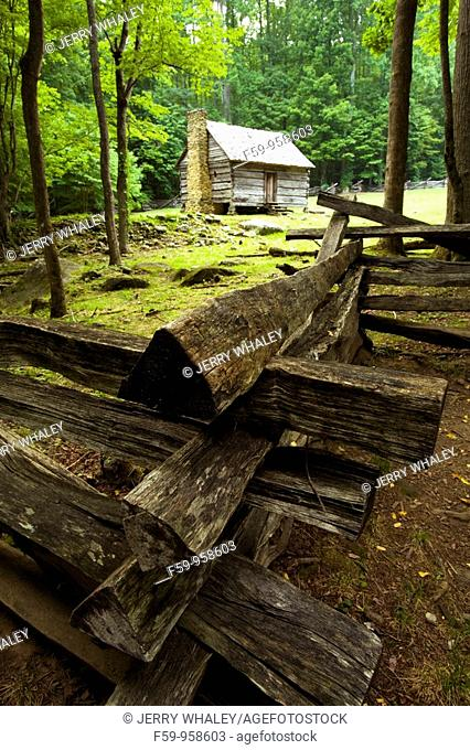 Jim Bales Cabin, Motor Nature Trail, Great Smoky Mtns NP, TN