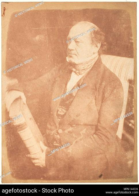 Dr. Sampson of York. Photography Studio: Hill and Adamson (British, active 1843-1848); Artist: David Octavius Hill (British, Perth, Scotland 1802-1870 Edinburgh