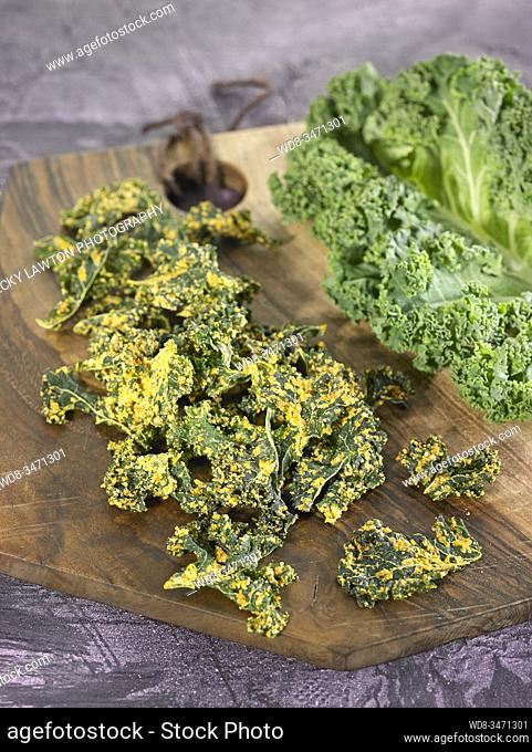 chips de col berza / cabbage chips