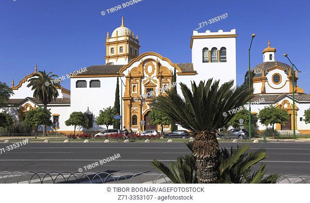 Spain; Andalusia; Seville; Glorieta de Buenos Aires,