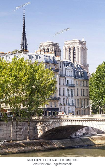 Ile Saint Louis and Notre Dame cathedral. The cathedral is widely considered to be one of the finest examples of French Gothic architecture and among the...