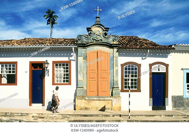america, brazil, minas gerais, sao joao del rey, city center, historical building