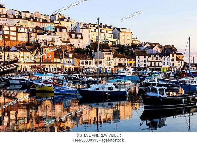 England, Devon, Brixham, Brixham Harbour