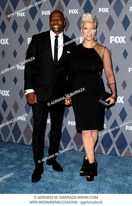 FOX Winter TCA 2016 All-Star Party held at the Langham Huntington Hotel - Arrivals Featuring: Terry Crews, Rebecca King-Crews Where: Los Angeles, California