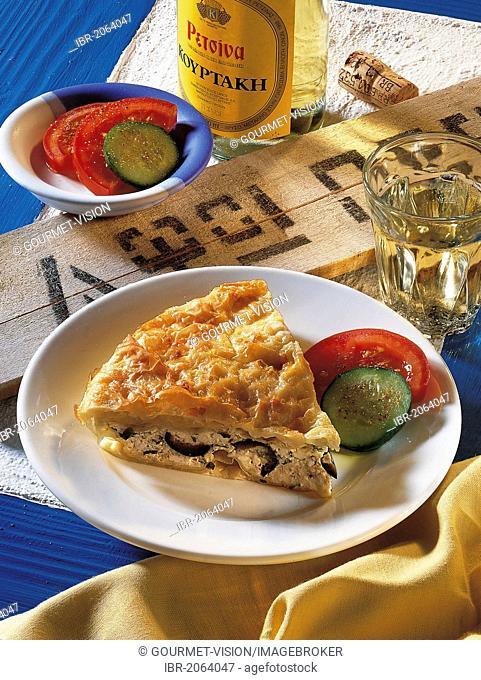 Greek cheese pita, Greece