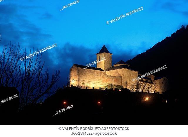 Church of Torla. Ordesa National Park. Huesca