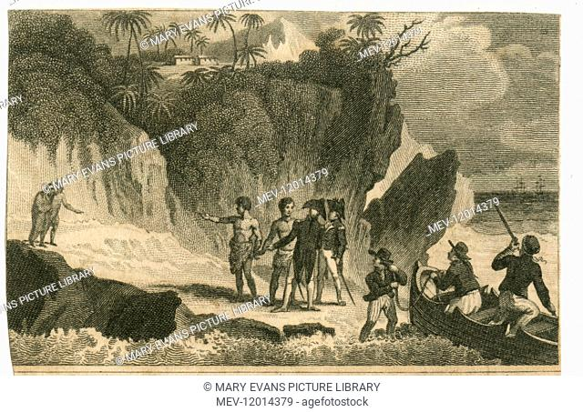 The visit of Captain Sir Thomas Staines and Philip Pipon to Pitcairn Island
