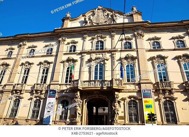 Palazzo Litta, Corso Magenta, Milan, Lombardy, Italy