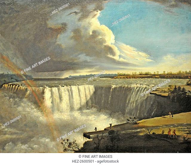 Niagara Falls from Table Rock, 1835. Found in the collection of the Museum of Fine Arts, Boston