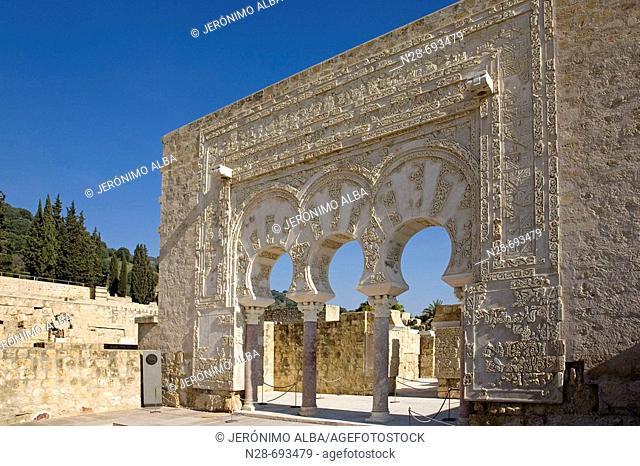 Dar al-Yund (Army House), Medina Azahara, Cordoba province, Spain