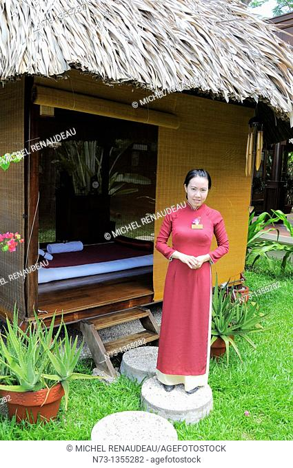Vietnam, Can Tho province, Mekong Delta, Can Tho Hotel Victoria