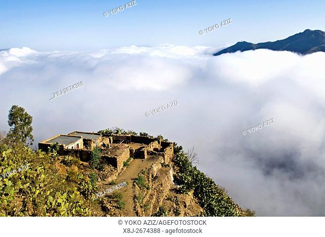 Landscape, surrounding of Asmara, Eritrea