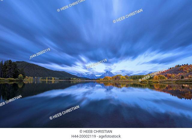 Wyoming, Rocky Mountains, Teton County, Grand Teton National Park