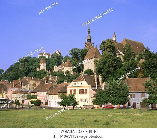 10651139, Old Town, Romania, castle Schäss, Transylvania, Sighisoara, town, city, UNESCO, world cultural heritage