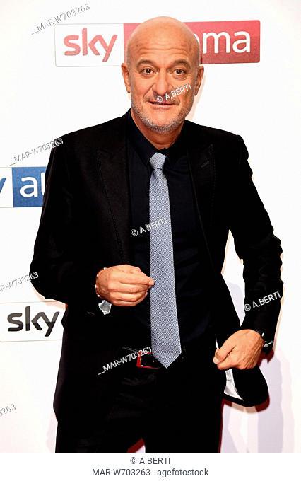 Claudio Bisio milano 29-10-2018