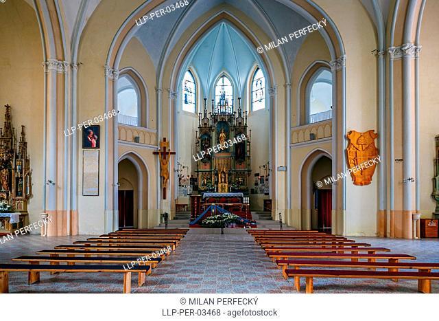 Levoca - Basilica of the Virgin Mary - Slovakia