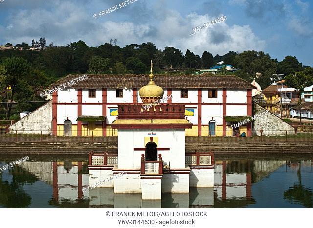Omkareshwar temple at Madikeri ( Karnataka, India)