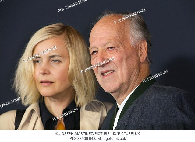 """Lena Herzog, Werner Herzog at """"""""The Mandalorian"""""""" Premiere held at El Capitan Theatre in Hollywood, CA, November 13, 2019"""