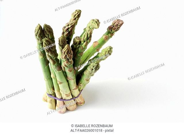 Asparagus, close-up, high angle view