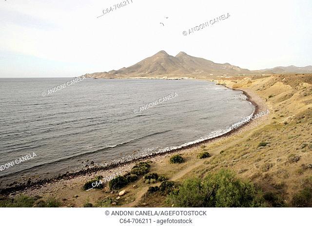 Isleta del Moro. Parque Natural de Cabo de Gata-Nijar. Almería. Spain