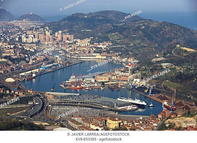 Port of Pasajes, Gipuzkoa, Basque Country, Spain