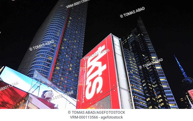 TKTS, Red Steps, Times Square, 42 nd Street, Manhattan, Broadway, New York City, USA
