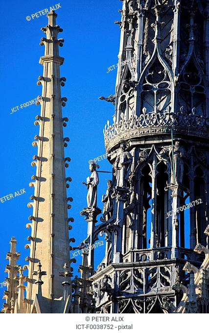 France, Picardy, Amiens, the cathedral