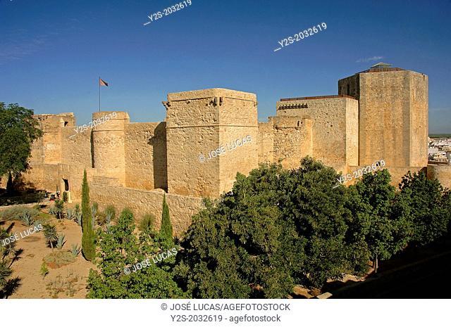 Santiago Castle -15th century, Sanlucar de Barrameda, Cadiz-province, Region of Andalusia, Spain, Europe