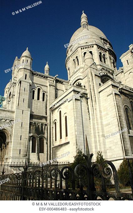 Sacre Coeur basilica, Montmartre, Paris, France