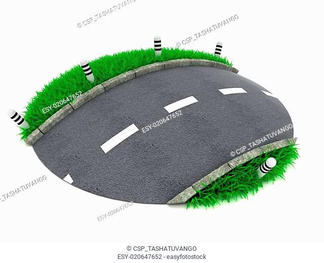 3D Conceptual Road