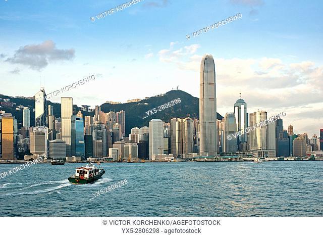 Hong Kong skyline, International Finance Centre tower