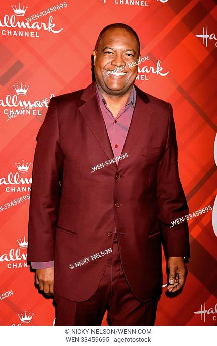 Hallmark's 'Christmas at Holly Lodge' screening at 189 The Grove Drive - Arrivals Featuring: Rodney Peete Where: Los Angeles, California