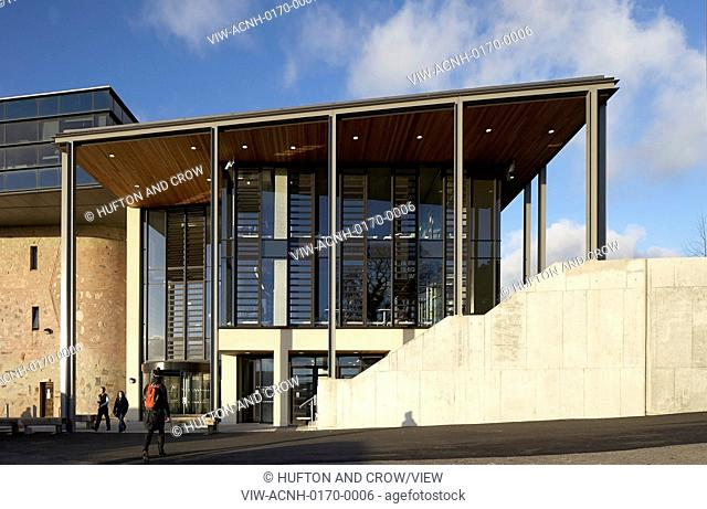 The extension to the existing library at the Penryn campus knits together the principles and educational goals of two institutio