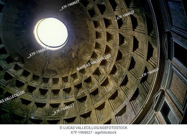 Pantheon,interior, Rome, Italy