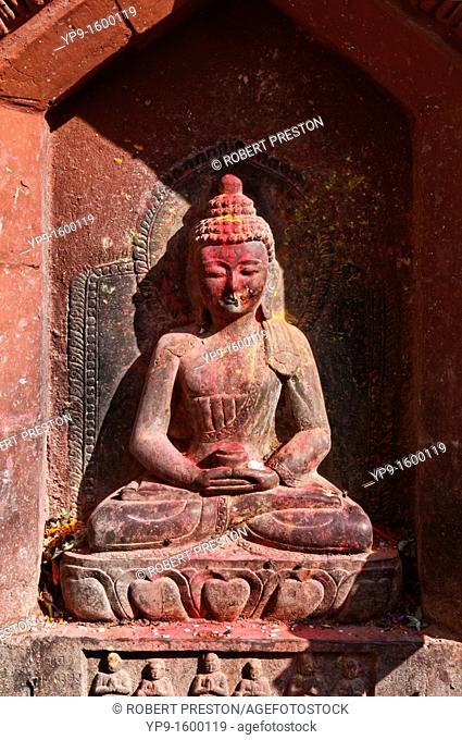 Buddha sculpture in Kathmandu, Nepal