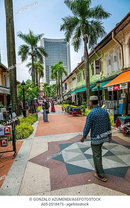 Malay Quarter. Arab Street District. Kampong Glam. Singapore. Asia