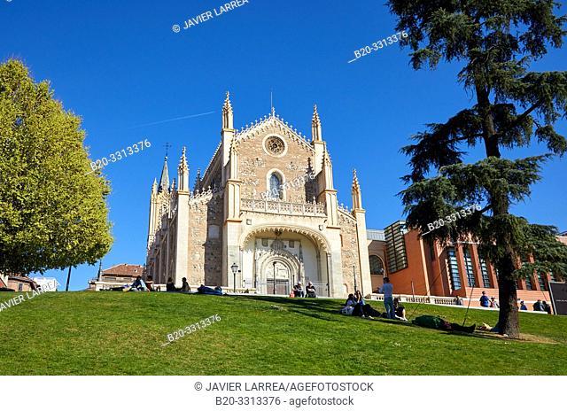 San Jerónimo el Real, Madrid, Spain, Europe