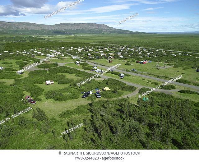 Summer house community, Laugarvatn, Iceland