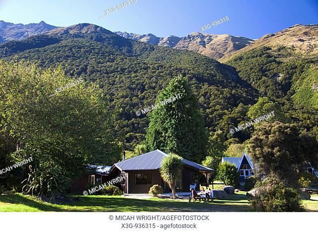 Makarora Wilderness Resort, South Island, New Zealand