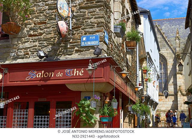Josselin, Brittany, Morbihan, Pontivy district, France